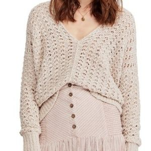 Free People best of you sweater neutral